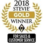 2018 stevie gold winner logo