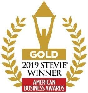 Gold 2019 Stevie Winner American Business Awards logo