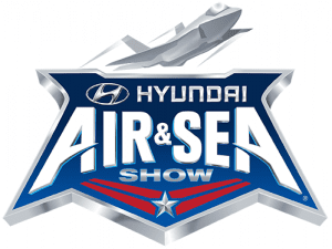 hyundai air & sea show logo
